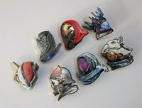 Destiny 2 Armory Collectible series pins 4 and Shaxx *RARE* Cybernetic bloom