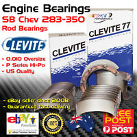 CLEVITE CB826 Engine Conrod Rod Bearings for SB Chev LJ +0.010