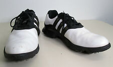 vtg Women's adidas White Black Athletic Casual Golf Shoes Cleats sz 8