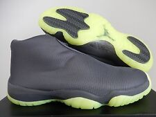 NIKE AIR JORDAN FUTURE FOOTSCAPE DARK GREY-DARK GREY-VOLT SZ 11 [656503-025]