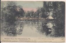 Mechanicsburg PA Cumberland County Postcard William's Grove Park Lake