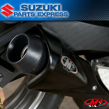 2011 - 2017 SUZUKI GSXR GSX-R 600 GSXR600 M4 BLACK GP SLIP ON EXHAUST SU6112-GP