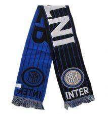 Sciarpa Ufficiale Inter modello Jaquard sport calcio
