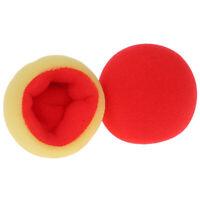 2Pcs/ Set Color Change Soft Sponge Ball Magic Tricks Close Up Stage Magic Pr RC#
