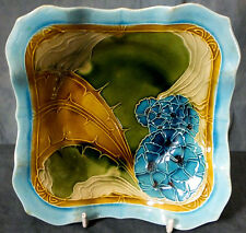 RARE HAND TUBELINED & PAINTED MINTON SECESSIONIST DISH