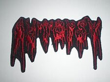 AUTOPSY DEATH METAL IRON ON EMBROIDERED PATCH