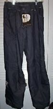 NWT! $150 SALOMON OUTER SKIN SKI PANTS - SMALL -NAVY