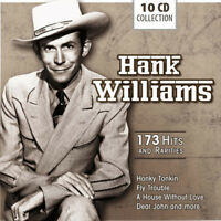 Hank Williams : 173 Hits and Rarities CD Box Set 10 discs (2013) ***NEW***