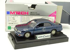 M Tech 1/43 - Nissan Cedric Bleue