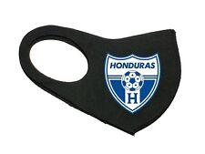 NEW HONDURAS SOCCER LA HACHE LOGO UNISEX FACE MASK FOOTBALL BLACK WASHABLE MASK