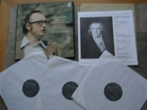 BEETHOVEN LATE PIANO SONATAS OP 90 101 106 ALFRED BRENDEL 3 LP STEREO BOXED EXC