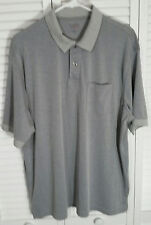 Roundtree&Yorke Travel Smart Mens Golf Polo Very Soft Short Sleeve Shirt Size L