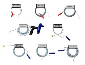 Rohrreinigungswelle Rohrschieber Rohrreiniger Rohrspirale Rohrreinigungsspirale