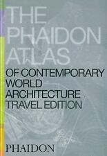 Phaidon Atlas Of Contemporary World Architecture: Travel Edition-ExLibrary