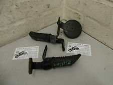 Suzuki Zillion LC 50cc 2000 LH & RH Rear Foot Pegs