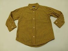 Gymboree Boys Size 3T Yellow & Blue Striped Dress Shirt Great Condition