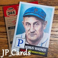 2019 Topps Living Set - #244 Honus Wagner - Pittsburgh Pirates - Hall of Fame!