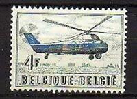A7627) BELGIUM 1957 MNH** Sabena helicopter flights 1v