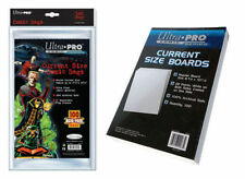 Ultra Pro Current Size Comic Bags x 100 + White Comic Backing Boards x 100