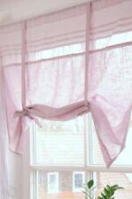 Rollo Raffrollo Roll Gardine rosa 160x90 cm Shabby Landhaus Vintage Franske NEU