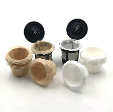 Paper Filters Cups White/Unbleached Coffee Filters For Keurig K-Cup Stunning
