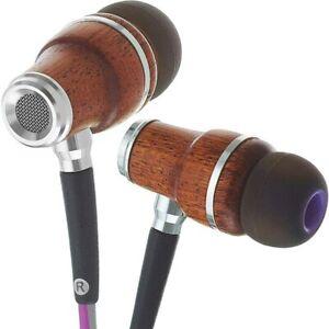 Symphonized NRG 3.0 In-Ear Wood Headphones Earbuds