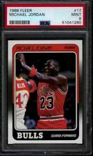 PSA 9 - 1988-89 Fleer # 17 Michael Jordan Chicago Bulls HOF