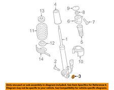 AUDI OEM 12-18 A6 Quattro Rear Suspension-Shock Washer WHT002389