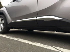 ABS Plastic Car Side Door Body Strips Cover Trim For Toyota C-HR CHR 2016-2018
