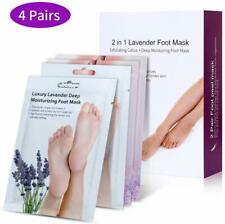 Foot Peeling Mask, Vitamin E Moisturizing Foot Peel Mask Socks Set Soften Remove