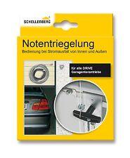 Schellenberg Externe Notentriegelung Garagentorantrieb Drive Sektionaltor NEU