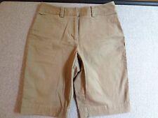 Talbots Shorts Khaki Bermuda Stretch  Size 4P  NWOT  #F67