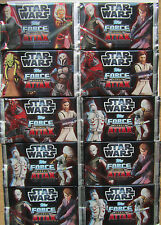 Star Wars Clone Wars / Force Attax  Serie 3 / 10 Tüten / Booster Neu OVP Topps