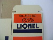 Lionel 3494-150 Missouri Pacific Operating Box Car - Licensed reproduction box