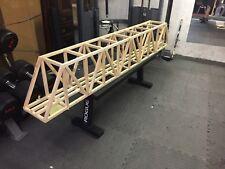 """96"""" G Scale Truss Bridge PLANS"""