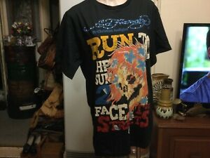 Vintage Tattoo Wear ED HARRY CHRISTIAN AUDIGIER black tee Shirt BNWT Size 2XL