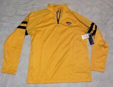 New ListingNew Men's Nashville Predators 1/4 Zip Pullover Shirt Size Medium Nwt Nhl