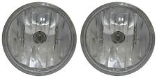 CHEVROLET SPARK 2016-2018 CHEVY LEFT RIGHT FOG LIGHTS DRIVING LAMPS PAIR W/BULB