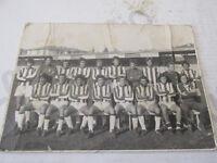 Fotografía Vintage Fútbol Città di Castello Foto Por Equipo Oficial Años 60