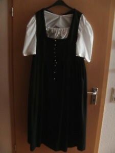 42 Stockerpoint señora bávara con delantal Tracht negro beige azul blanco talla 40