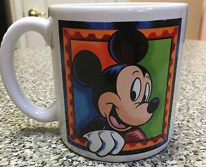 New Walt Disney World Mickey Mouse Collectible Coffee Mug Cup