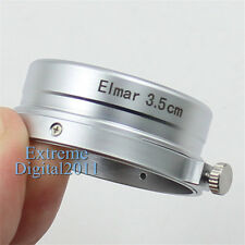 New Metal Lens Hood for Leica Leitz M39 Elmar 3.5cm 35mm f/3.5 1:3.5 Lens