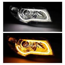 FLEXIBLE DRL LIGHT BAR AUDI STYLE DAYTIME RUNNING LIGHTS & INDICATOR AUDI A2 A3