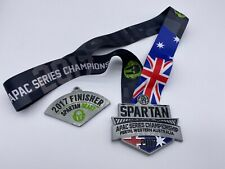 2017 Australia Spartan Beast Finisher Medal w/ Trifecta Wedge