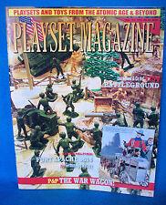 Playset Magazine issue #65 Marx Battleground + Fort Apache #3614 a 60mm set