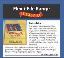 Albion 8575 - Flex-I-File #8575 Cut-N-Trim Assortiment Souple Dossier Pack1