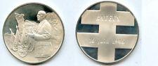Général de GAULLE  BAYEUX  16 JUIN 1946  Médaille argent