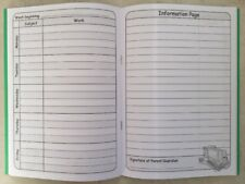Children's Daily Homework Diary Record Book Any Academic Year Primary School Kid