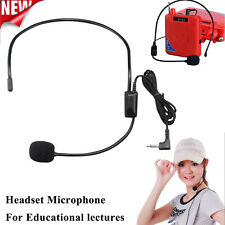 Educational Lectures Headset Microphone Headset Amplifiers 3.5 Interface + Mic