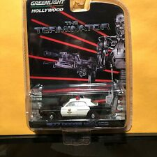 1/64 GREENLIGHT HOLLYWOOD THE TERMINATOR 1977 DODGE MONACO POLICE CAR